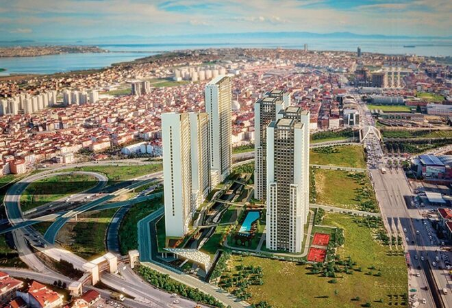 Best investment near canal istanbul with lake views