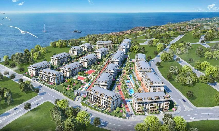 charming life integrated with marmara sea