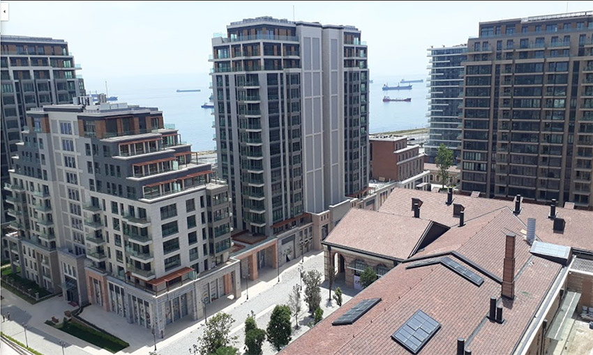 direct sea view project in historical city center istanbul