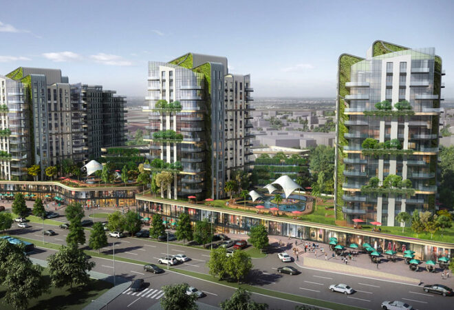 luxurious project in the center of istanbul