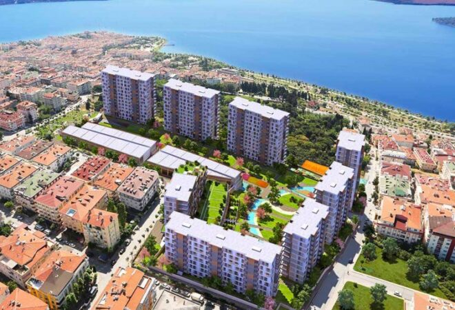next to canal istanbul with large living spaces