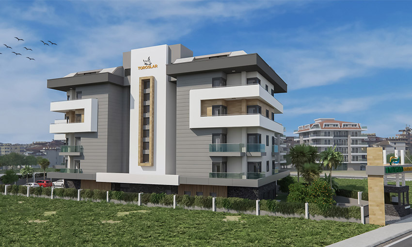 buy apartments in alanya center