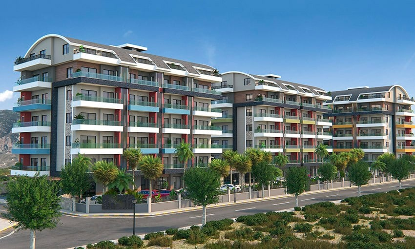 new project in alanya near to the sea