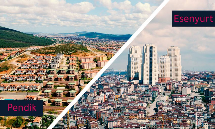 real estate, What is your choice, Esenyurt or pendik, where are the most sales done in Istanbul?