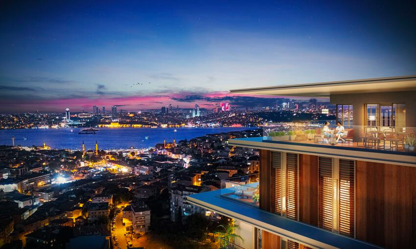 special project in istanbul with bosporus view