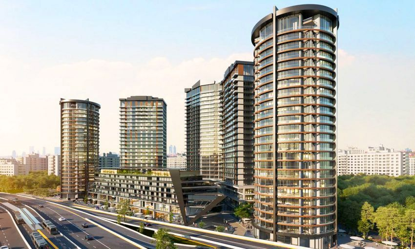 the largest mixed use project in istanbul