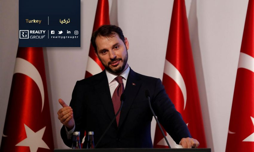 in turkey, Albayrak announced that the target is reducing inflation in Turkey to 5%