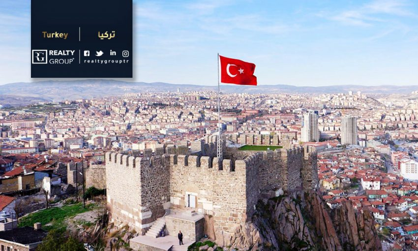 real estate in ankara, Best-selling districts of real estate in Ankara
