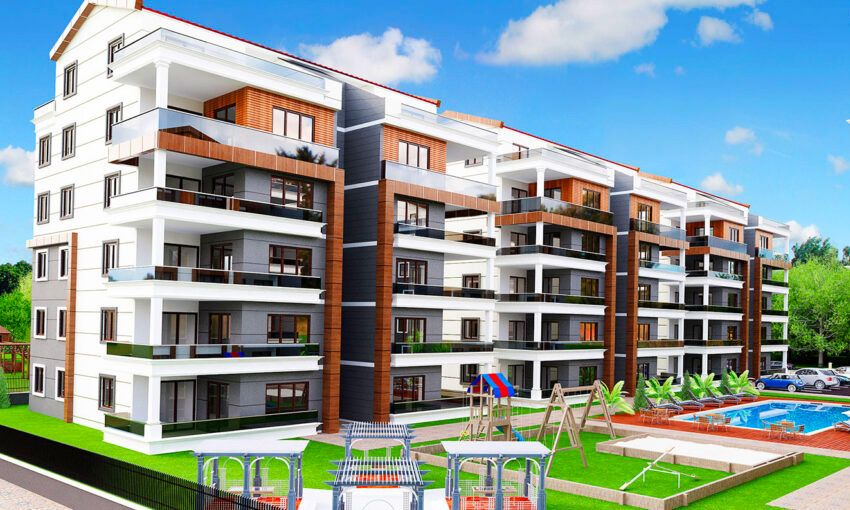 apartments for sale in akcalar nilufer in bursa city