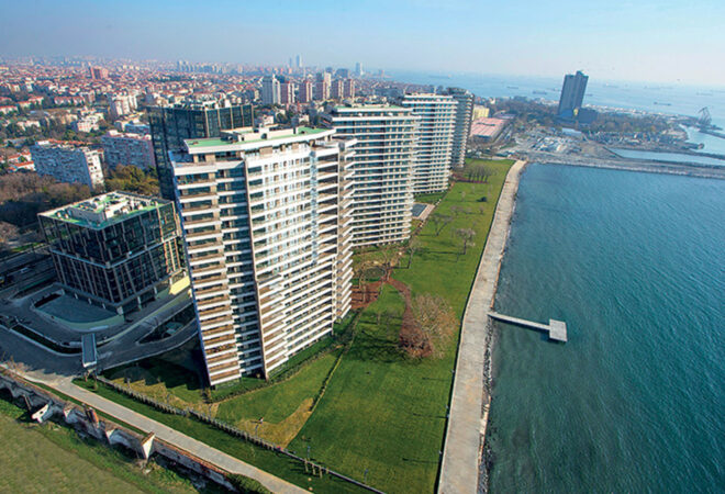 READY TO MOVE APARTMENTS FOR SALE IN ISTANBUL, اطلالة بانوراما