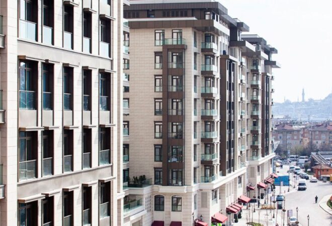 the upscale living in the most famous region taksim
