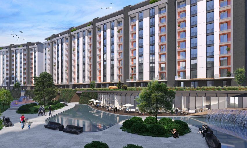 APARTMENT FOR SALE ISTANBUL CITY CENTER,