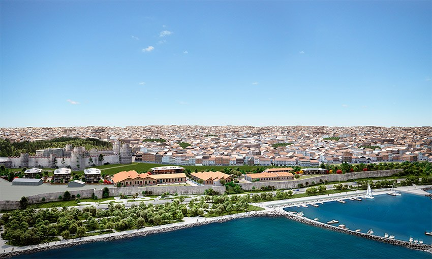 luxurious aparments in the center of istanbul city