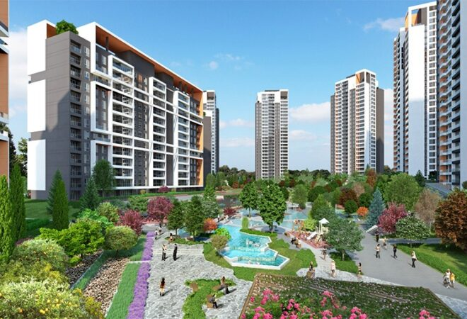 enjoy living beside nature and golet park in bahcesehir