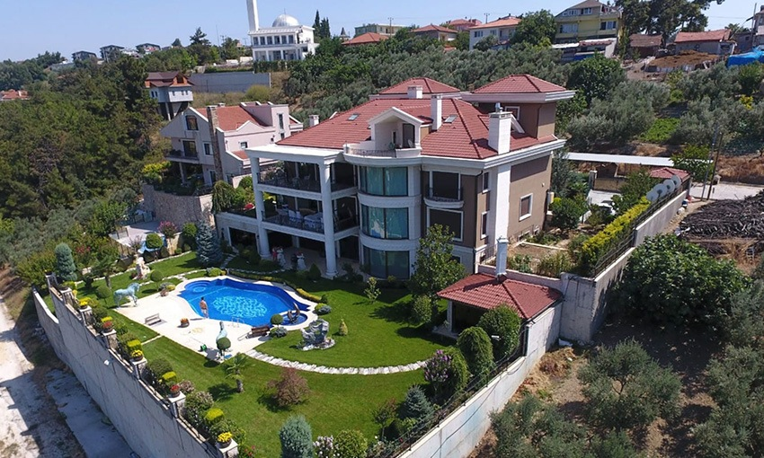 high-quality luxury villa in mudanya bursa