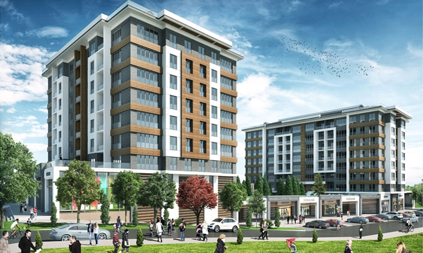 affordable apartments beside metrobus line in avcilar