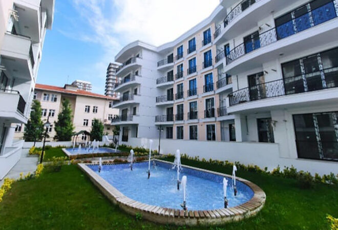 affordable apartments beside the e5 highway in esenyurt