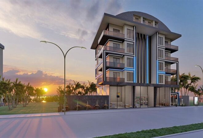 aunique sea view apartments for sale in alanya