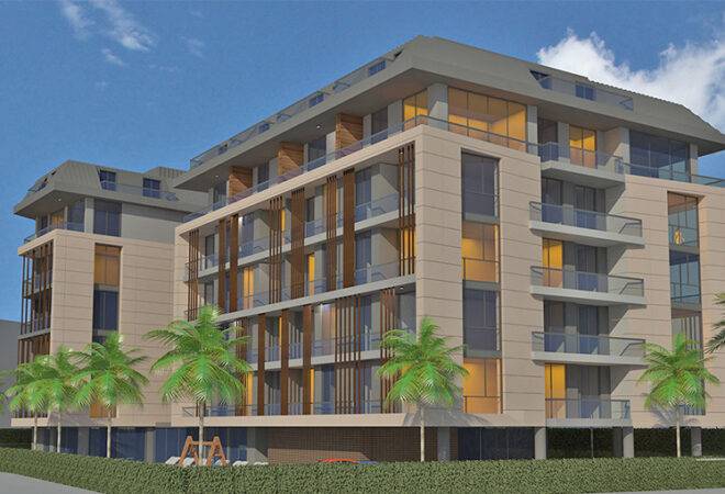 centrally located apartments for sale in alanya