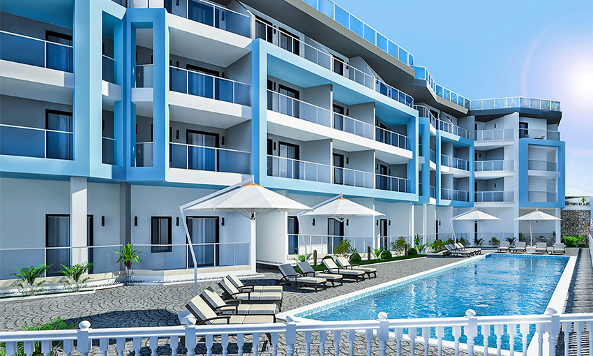 panoramic sea view apartments in alanya kargicak