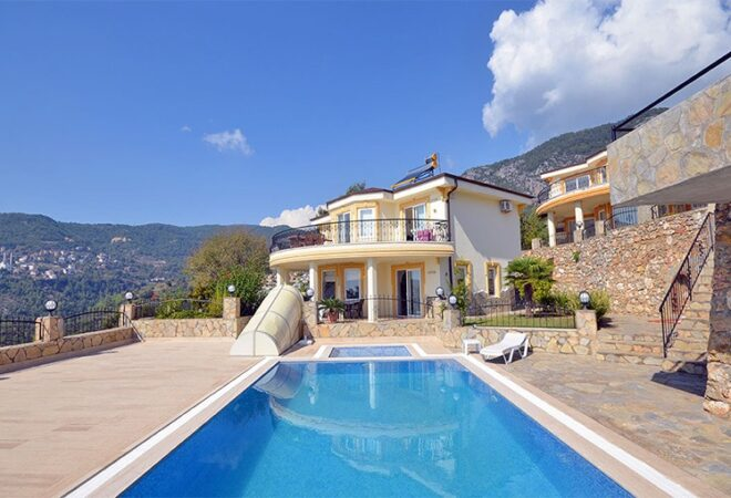 sea view fully furnished and exclusive villa
