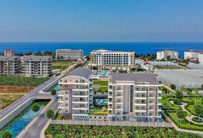 unique apartments for sale with sea view in alanya