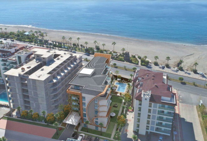 unique design apartments in alanya kestel