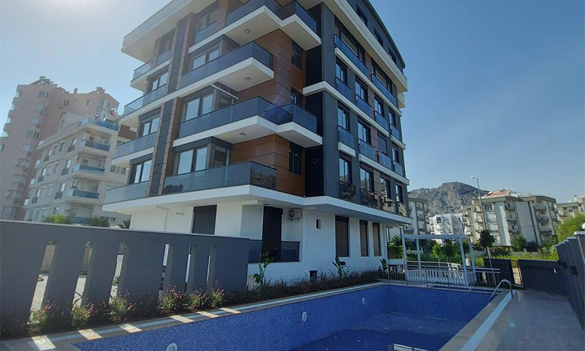 apartments for sale in hurma konyaalti district in antalya