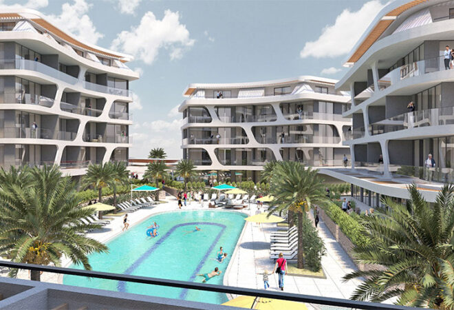 exclusive luxurious apartments for sale in oba alanya
