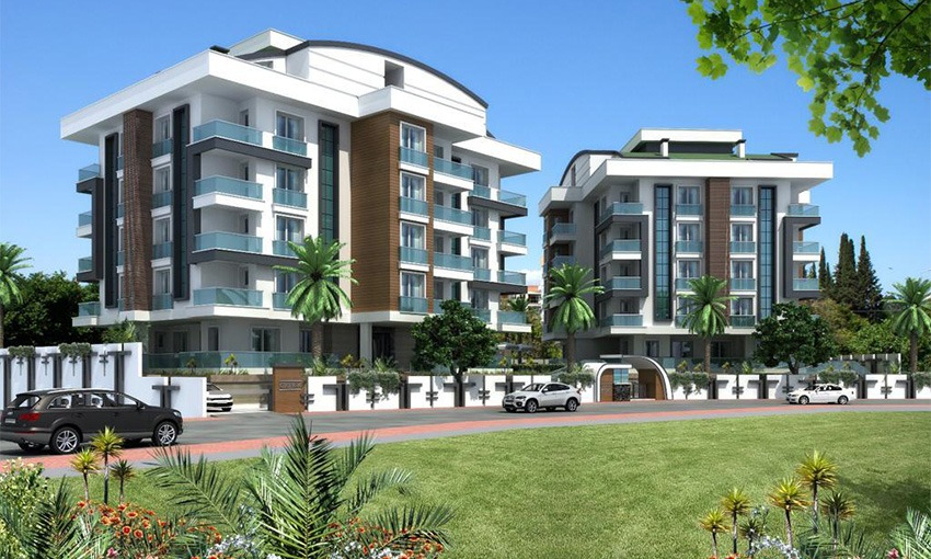luxurious apartments for sale in konyaalti antalya