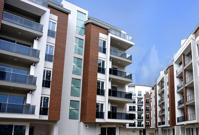 apartments for sale in a residential compound in konyaalti antalya