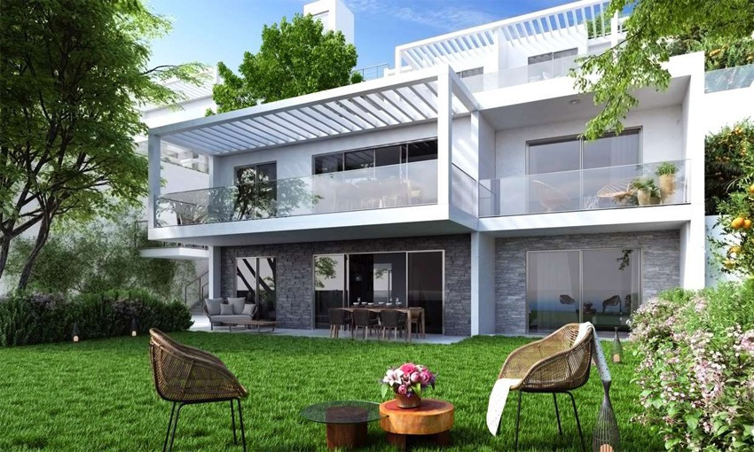 deluxe residential apartments with sea view in bodrum