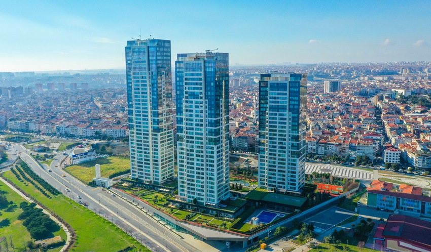 Luxury residential project with vip features in istanbul