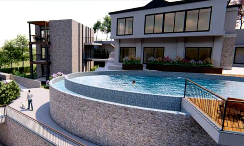residential project in bodrum with panoramic sea view