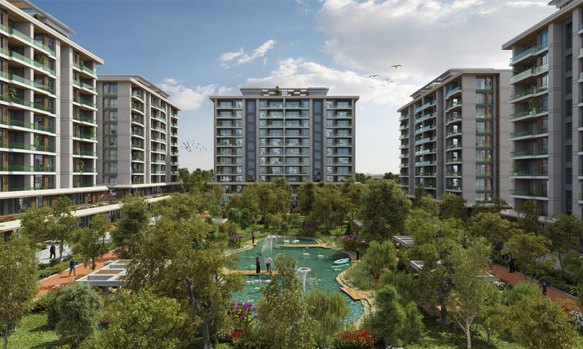modern complex with luxury features in Istanbul