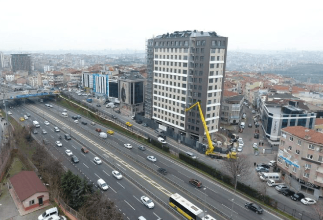 modern project with central location in istanbul