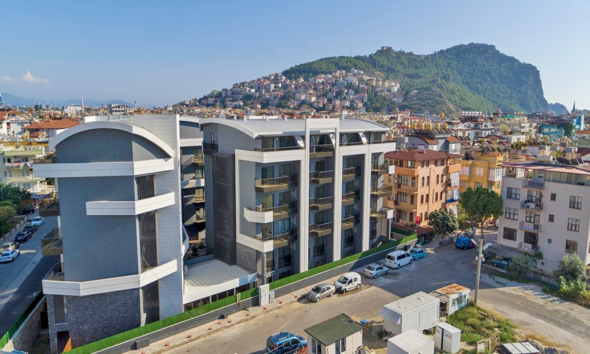 elite complex with spectacular sea views in alanya