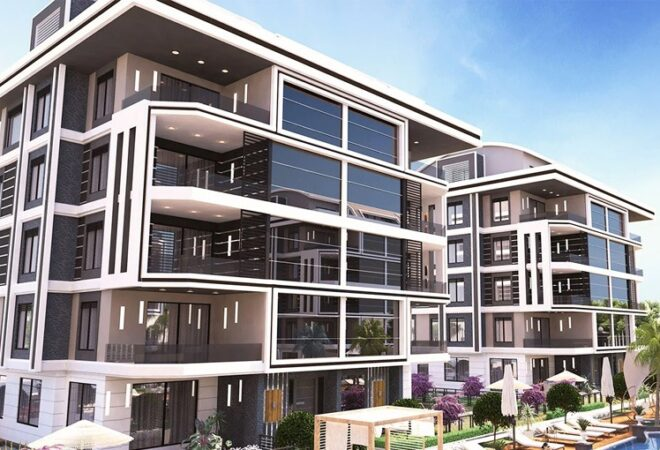 luxury complex in alanya with proximity to beaches