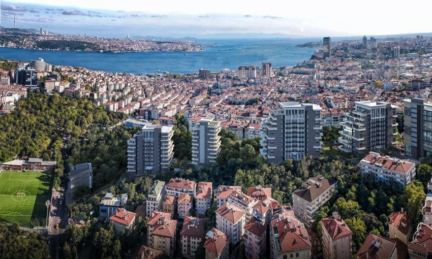 luxury diverse project in the heart of istanbul