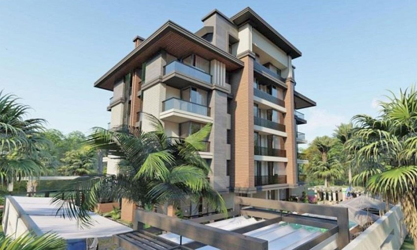 marvelous sea view apartments in Antalya city
