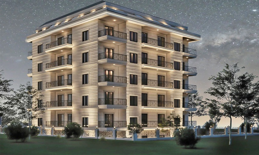 spectacular complex in alanya suitable for investments