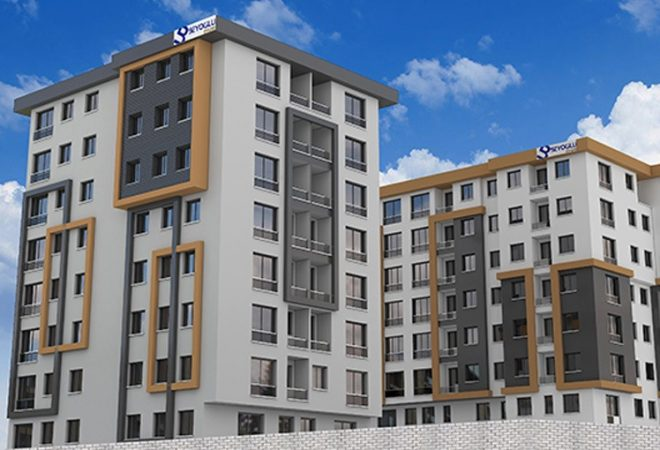 Elite apartment complex in the heart of istanbul
