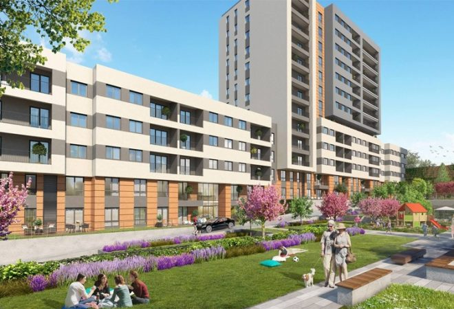 luxury complex in the heart of Istanbul near amenities