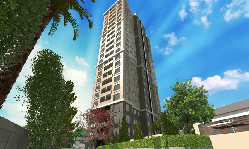 modern complex in kartal inside the heart of istanbul