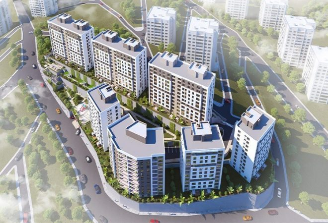 Brand new residences in the heart of istanbul