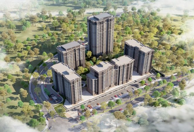 Lux Residence Nearby New Canal Istanbul Project